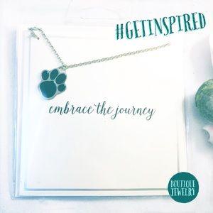 Jewelry - Inspiration Necklace • Paw Embrace the Journey